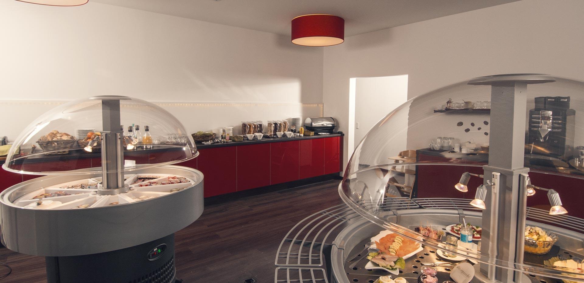 Frühstücksbuffet im Hotel Frechener Hof