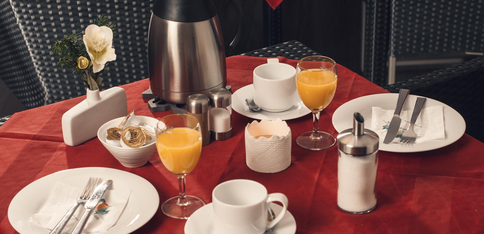 Frühstück im Hotel Frechener Hof